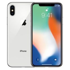 Begagnad iPhone X 64GB - Silver