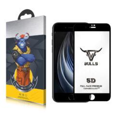 Bulls Premium 5D Skärmskydd iPhone SE 2020 - Svart