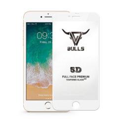 5D Skärmskydd iPhone 7 Plus / 8 Plus - Vit