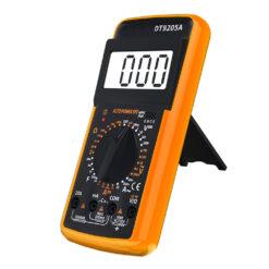 Elektrisk Mätare för Ohm, Volt, Amp - DT9205A