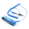 Antistatarmband med kabel blå