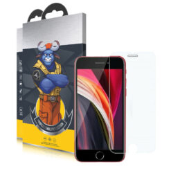 Bulls Premium 9H Skärmskydd iPhone SE 2020 - Crystal Clear