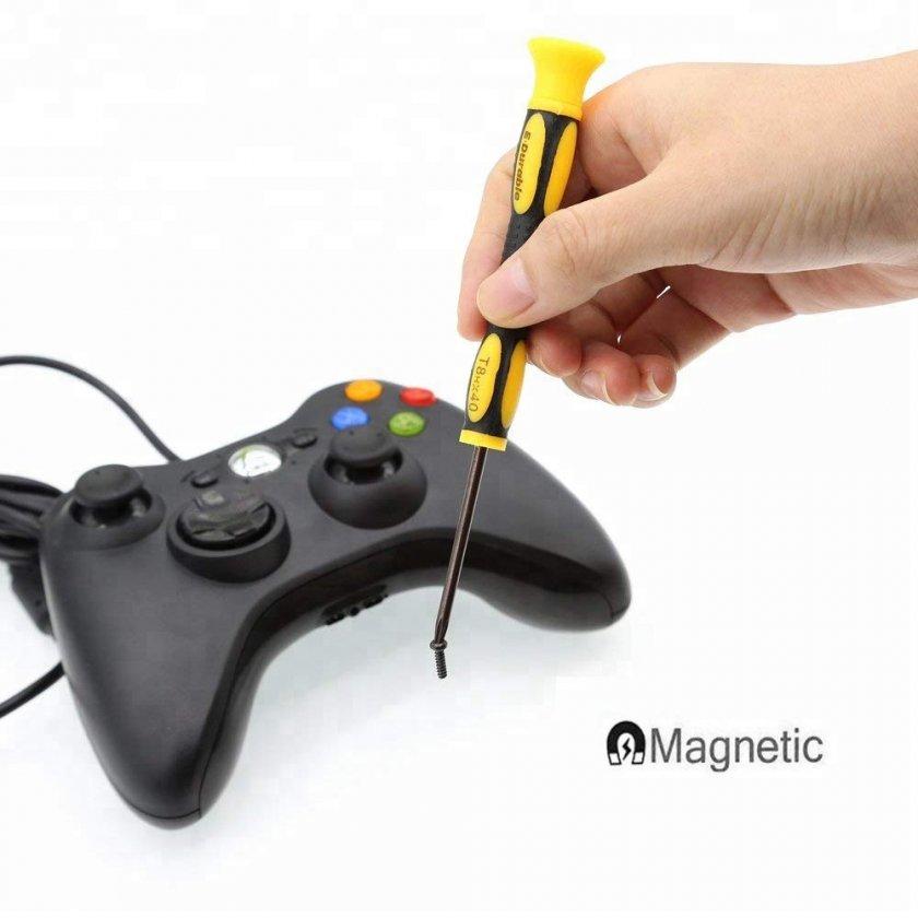 Reparationssats med 7 Verktyg för Xbox One, 360, PS4 Handkontroll