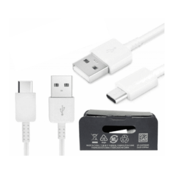 Samsung USB-C Original Kabel, EP-DG970BWE - Vit