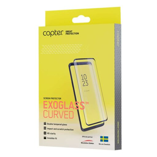 Copter Exoglass Curved Skärmskydd för Samsung Galaxy Note 20 Ultra