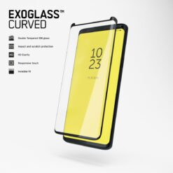 Copter Samsung Galaxy S10 Skärmskydd - Exoglass Curved Svart