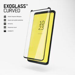 Copter Samsung Galaxy S9 Skärmskydd - Exoglass Curved Svart