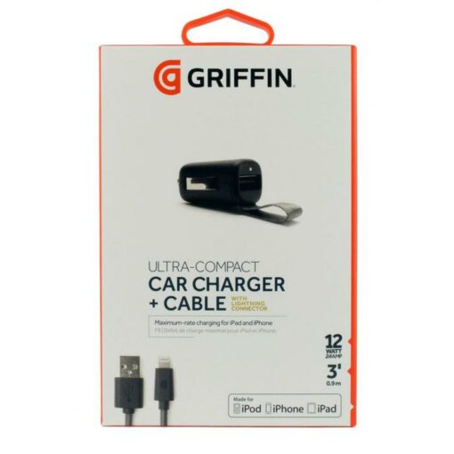 Griffin Billaddare 12W Ultrakompakt Lightning