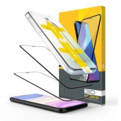 Easy App Skärmskydd iPhone SE 2020 - Svart