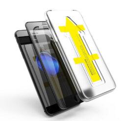Easy App Skärmskydd iPhone SE 2020 (Svart)