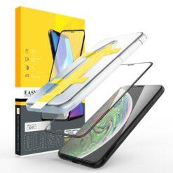 Easy App Skärmskydd iPhone X / XS (Svart)