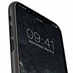 Melkco Air PP Skal iPhone X/XS Transparent - Svart
