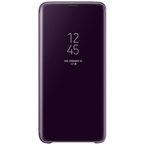 Samsung Galaxy S9 Plus Clear View Fodral Original (Lila)