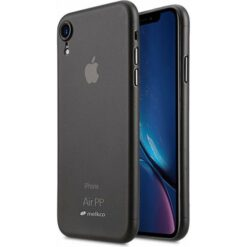 Melkco Air PP Skal iPhone XR Transparent - Svart