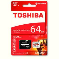 Toshiba microSDXC Class 10 UHS-3 90MB/s 64GB