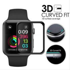 Apple Watch Skärmskydd Heltäckande Härdat 3D - 38mm