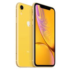 apple iphone xr begagnad gul yellow