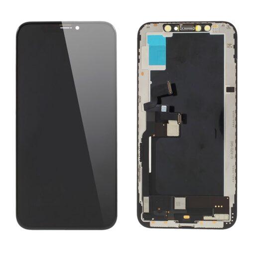 iPhone XS Skärm LCD Display Glas - Svart