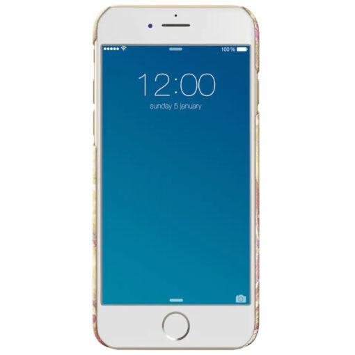 iDeal Fashion Case för iPhone 6-6S-7-8 - Golden Blush Marble