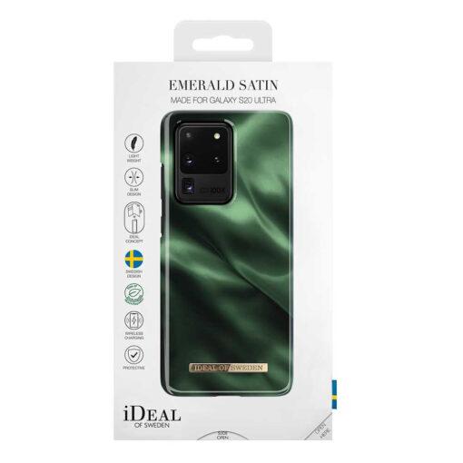 iDeal Samsung Galaxy S20 Ultra Skal - Smaragd Siden