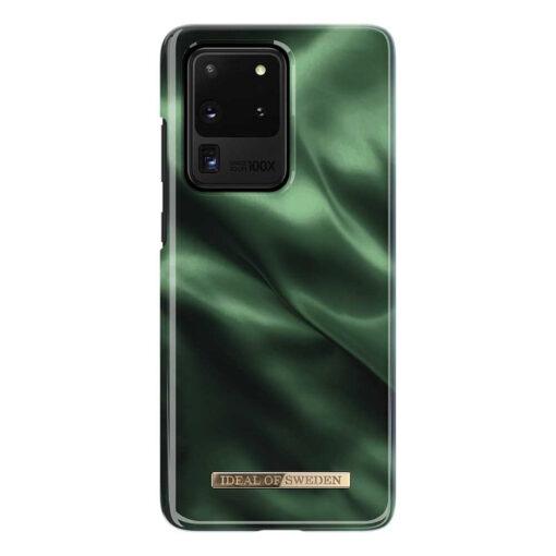 iDeal Fashion Skal Samsung Galaxy S20 Ultra - Smaragd Siden
