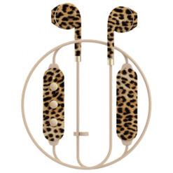 Happy Plugs Earbud Plus II Trådlösa Hörlurar - Leopard