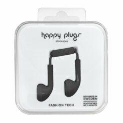 Happy Plugs Earbuds Hörlurar - Svart