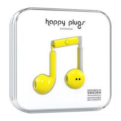Happy Plugs Earbud Plus hörlurar – Gul