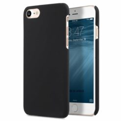 iPhone 7 / 8 Skal i Gummi- Ergonomiskt - Svart
