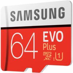 Samsung Evo Plus 2020 microSDXC MC64HA Class 10 UHS-I U1 64G